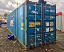 Как выбрать морской контейнер