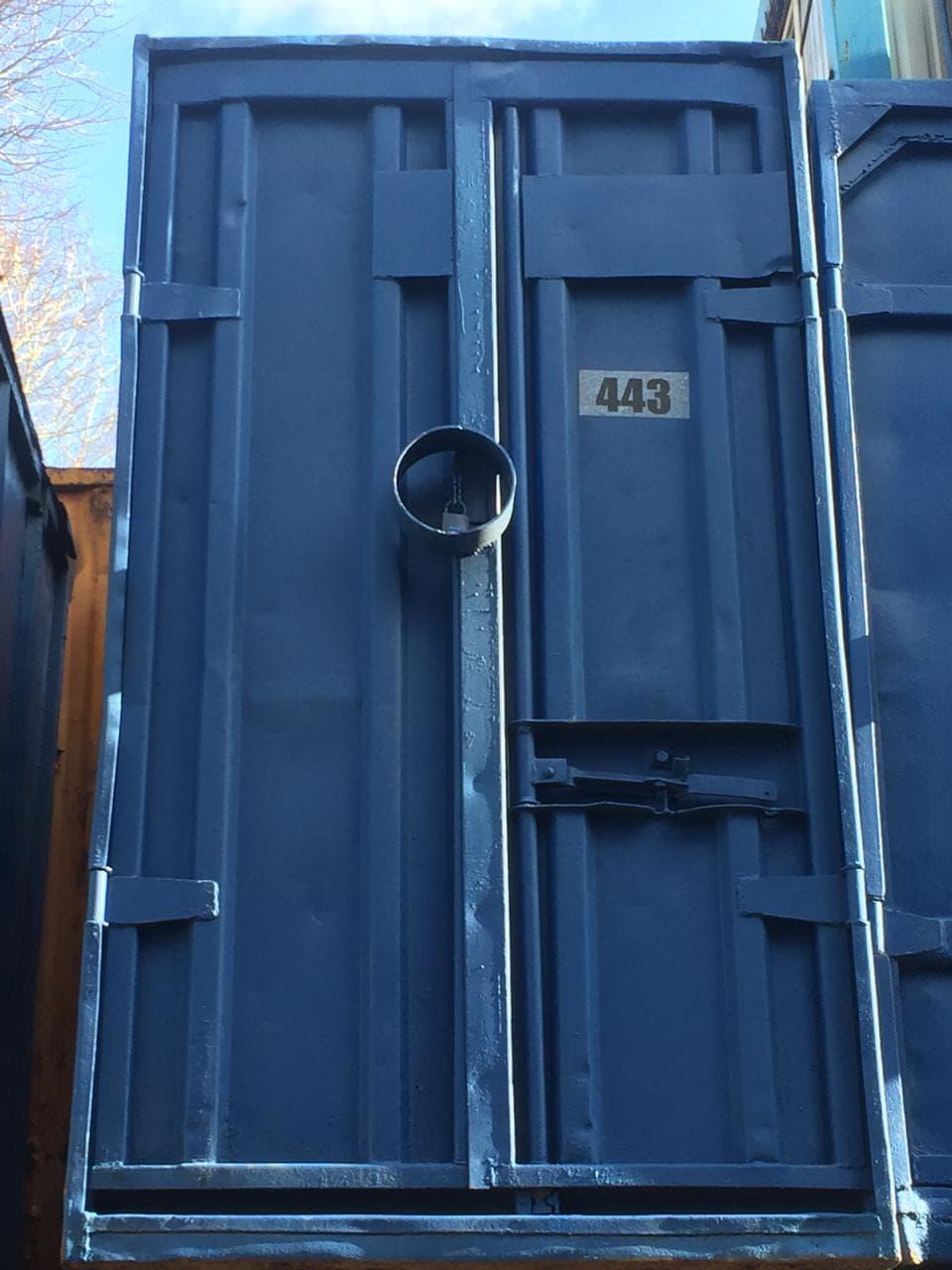 Контейнер 5 футов (3 тонны) фото