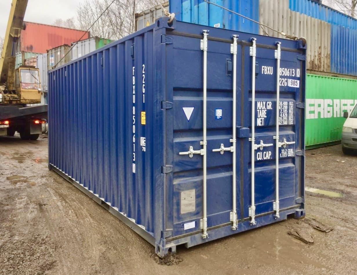 20-футовый контейнер фото