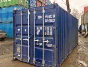 Универсальный морской контейнер