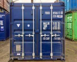 Морской контейнер 20 футов – размеры, габариты и вес