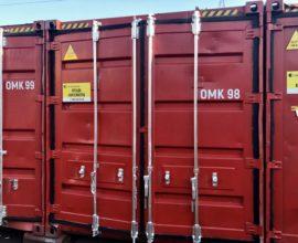 Покраска морских контейнеров