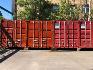 Большой выбор контейнеров фото