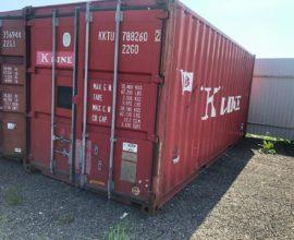 Что выбрать — новый морской контейнер или БУ?