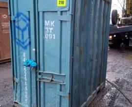 Размеры морского контейнера 3 тонны
