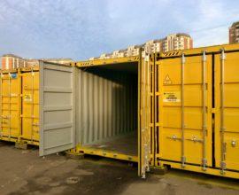 Норма загрузки контейнера 40 футов