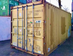 Металлический грузовой бокс