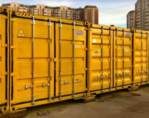 Площадка контейнеров фото