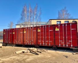 Характеристика железнодорожного контейнера